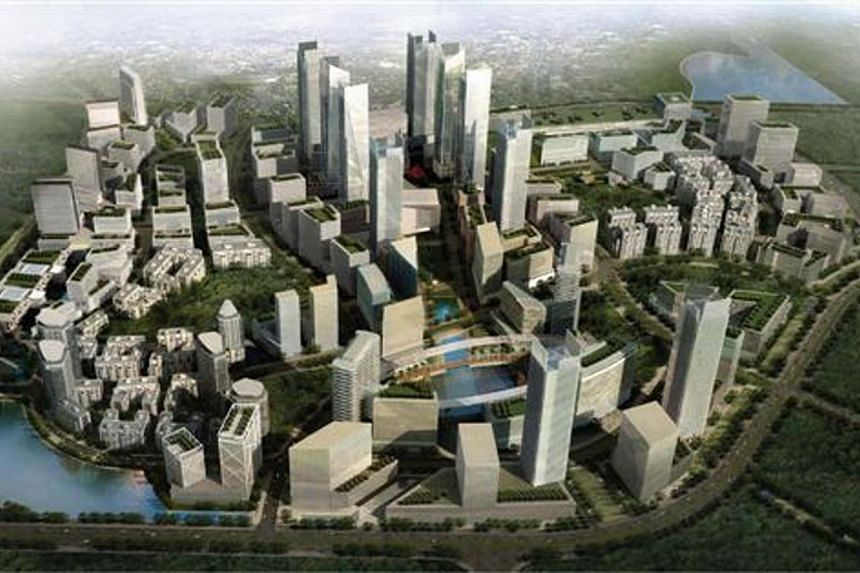 Medini Iskandar, developer for the 903-ha Iskandar region in Johor, Malaysia, plans to list on the local stock exchange in the first half of 2014 in a deal that could raise up to US$800 million (S$1.01 billion), according to sources. -- PHOTO: ISKAND