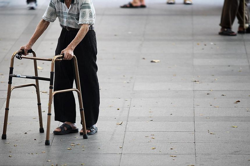 The needy elderly in Singapore will now find it much easier to apply for wheelchairs and other assistive devices they require. -- BT FILE PHOTO: YENG MENG JIIN