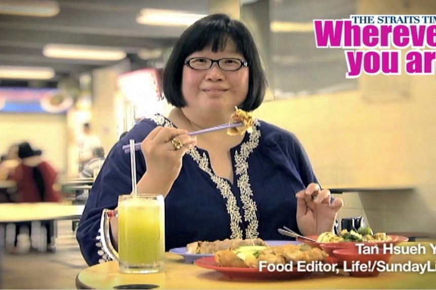 Life! and Sunday Life! Food Editor Tan Hsueh Yun.Veteran Straits Times (ST) journalists will go on radio and pop up on bus shelter ads as well as electronic screens at shopping malls and office buildings. -- PHOTO: RAZOR TV