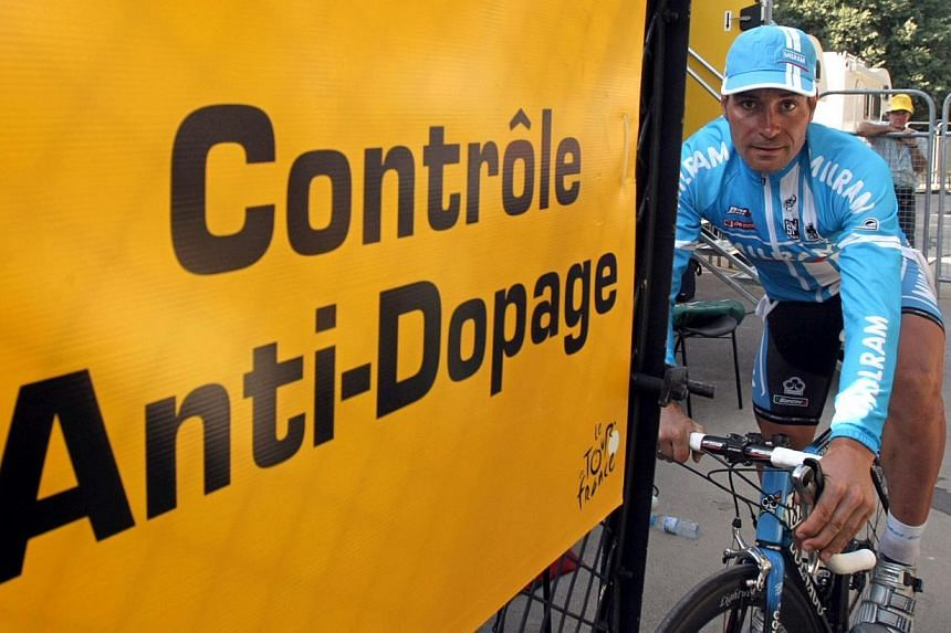 Germany's Erik Zabel (above) leave the anti-doping car control after being tested at the end of the 11th stage of the 94th Tour de France cycling race on July 19, 2007. The former sprint cyclist admitted on Sunday, July 29, 2013, to years of doping