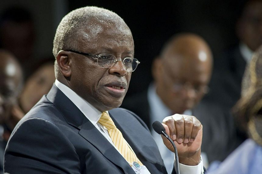 "Ugandan Prime Minister Amama Mbabazi (above) has accepted substantial damages from Britain's Daily Mail newspaper after it falsely claimed he and his ""cronies"" siphoned off millions of dollars of foreign aid, London's High Court heard on Tuesday, Jul"