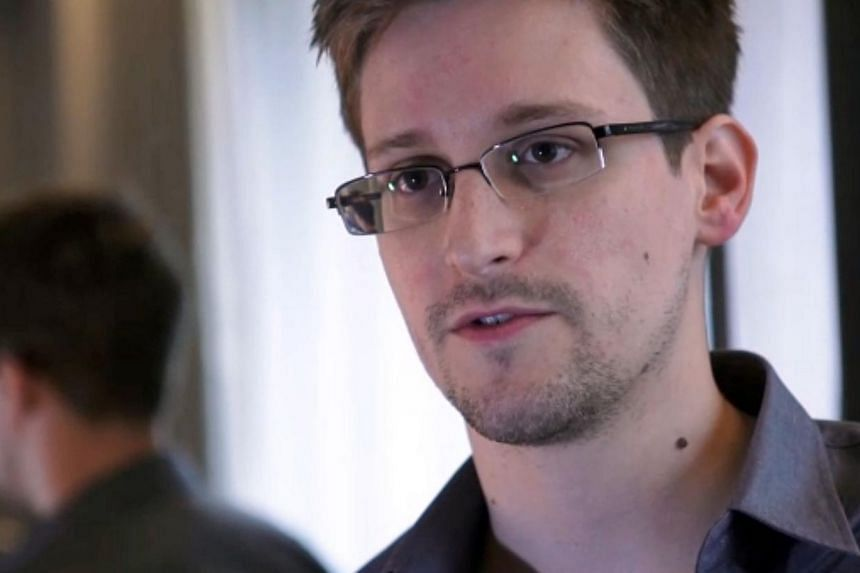 A still frame grab recorded on June 6, 2013 and released to AFP on June 10, 2013 shows Edward Snowden, who has been working at the National Security Agency for the past four years, speaking during an interview with The Guardian newspaper at an undisc