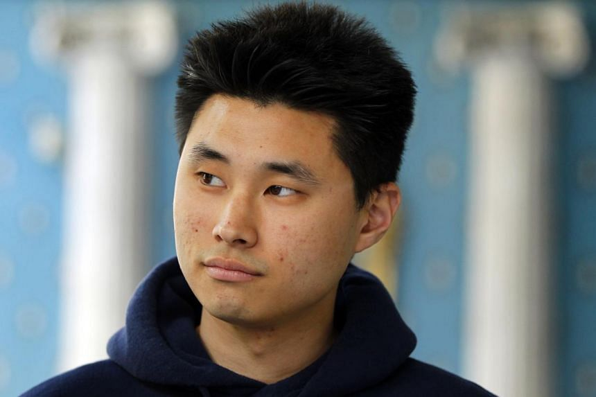 Daniel Chong at a news conference where he discussed his detention by the DEA in San Diego. Chong has reached a US$4.1 million (S$5.2 million) settlement with the United States (US) Drug Enforcement Administration (DEA), his lawyers said on Tuesday.