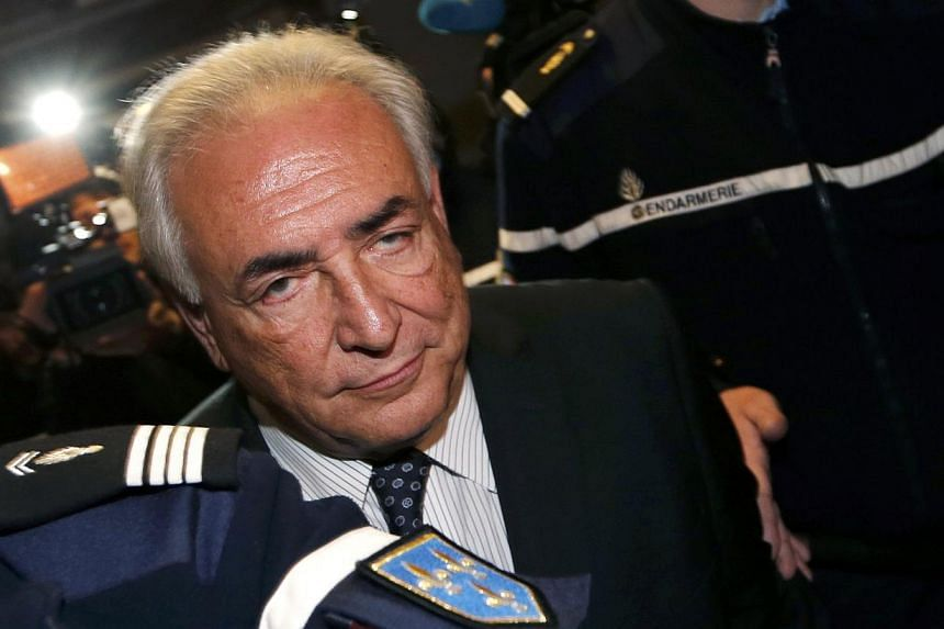 Former IMF chief Dominique Strauss-Kahn declared in an interview broadcast on Wednesday, July 31, 2013, on Russian television that his political career was over and he was instead working as an economic advisor. -- FILE PHOTO: REUTERS