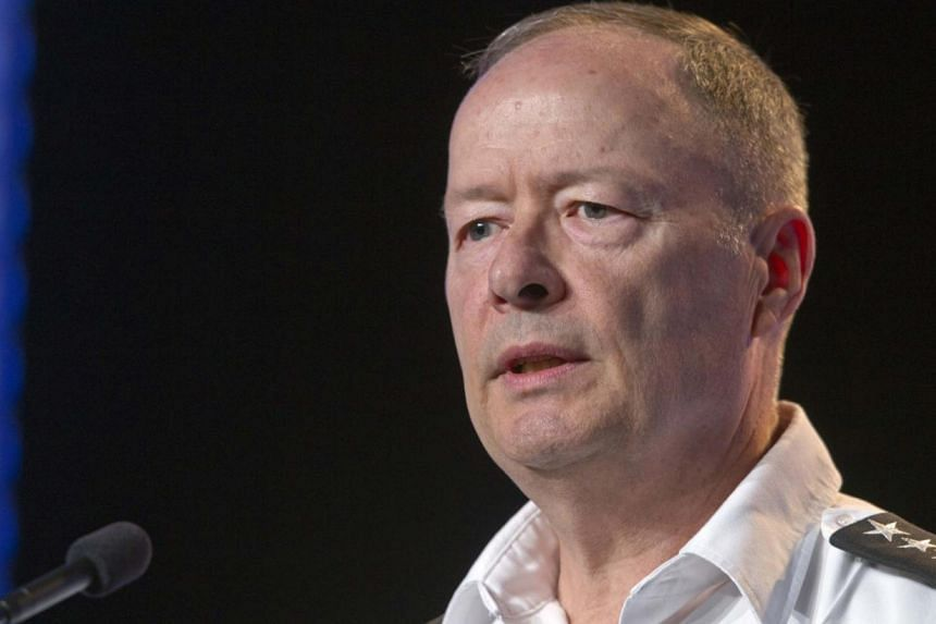 General Keith Alexander, director of the National Security Agency (NSA), chief of the Central Security Service (CSS) and commander of the US Cyber Command, speaks during the Black Hat USA 2013 hacker convention at Caesars Palace in Las Vegas, Nevada