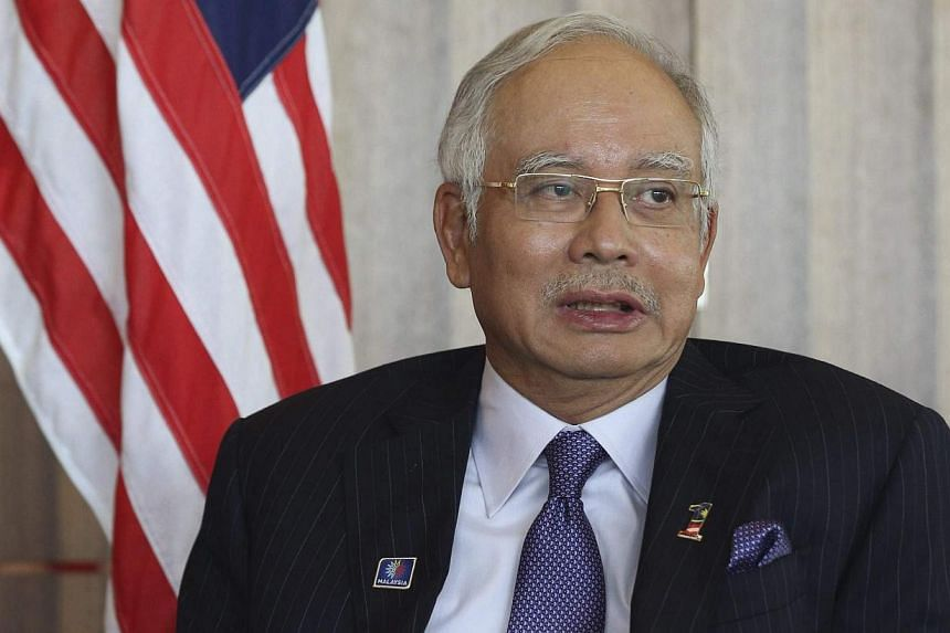 Malaysia's Prime Minister Najib Razak at Battersea Power Station in London on July 4, 2013. Mr Najib said on Thursday his government was committed to improving the country's fiscal position and would announce steps to do so in his next annual budget