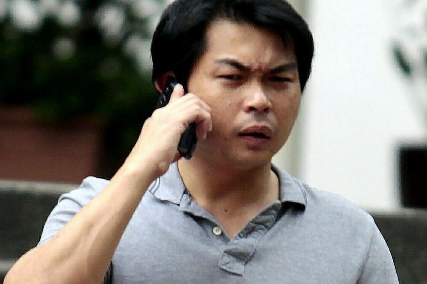 Henry Ong Hock Heng, 35. -- ST PHOTOS: WONG KWAI CHOW