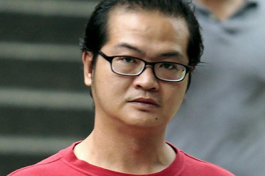 Yap Kian Yong, 35. -- ST PHOTOS: WONG KWAI CHOW