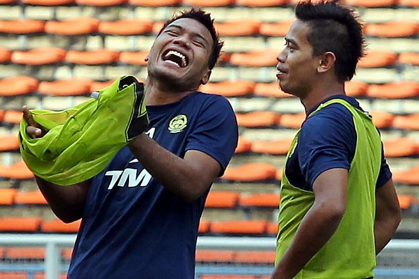 The well-paid squad include Malaysian internationals Safee Sali (left) and Safiq Rahim. Johor have been grouped with PKNS, T-Team and Felda United for their Malaysia Cup campaign, which kicks off on Aug 20.  Fandi Ahmad, with Tunku Ismail Idris, is s