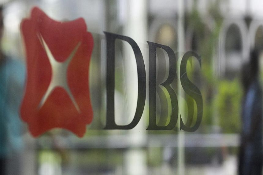 DBS shares rose as much as 2.3 per cent to $17.09 in early trade, among the top three performers on Singapore's Straits Times Index. The index was up 1 per cent. -- BT FILE PHOTO: JOSEPH NAIR