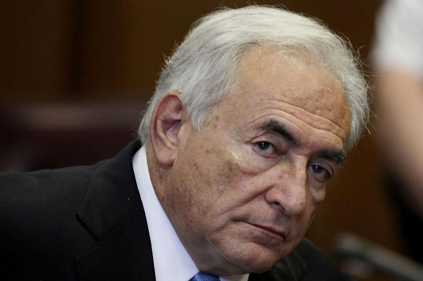 In this July 1, 2011 file photo, former International Monetary Fund leader Dominique Strauss-Kahn listens to proceedings in New York State Supreme court in New York. Strauss-Kahn declared in an interview broadcast on Wednesday on Russian television t