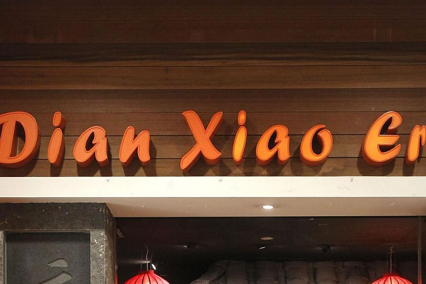 A Soup Restaurant subsidiary was ordered by the High Court to pay $10,000 to the owners of roast duck restaurant Dian Xiao Er earlier this week. -- ST FILE PHOTO: KEVIN LIM