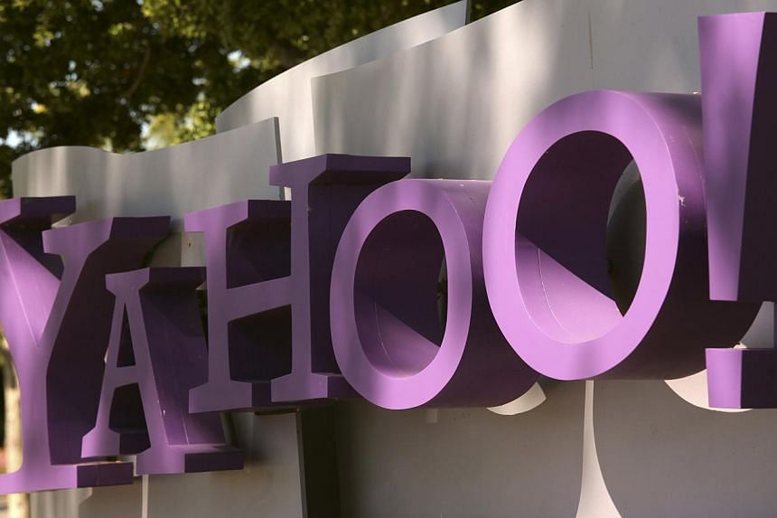 The Yahoo logo is seen at the company's headquarters in Sunnyvale, California on April 16, 2013.Yahoo Inc acquired social Web browser company Rockmelt, the latest move by the struggling Web portal to scoop up technology and engineering ta