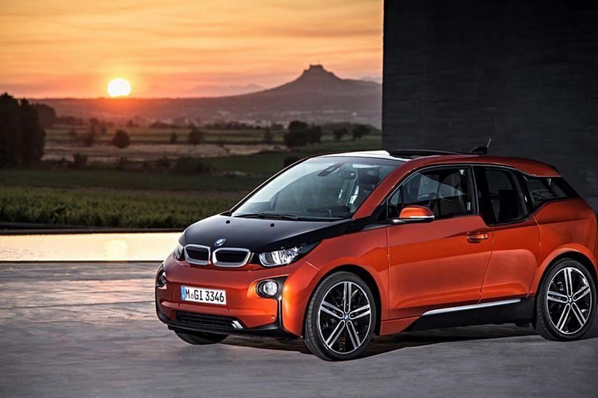 The BMW i3. -- PHOTO: BMW AG
