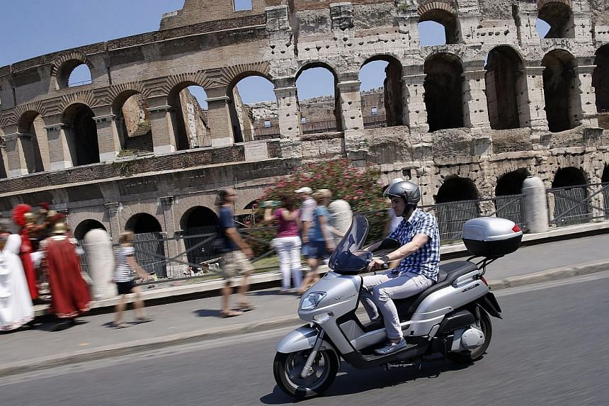 The Colosseum in Rome on Thursday, July 25, 2013. -- FILE PHOTO: REUTERS