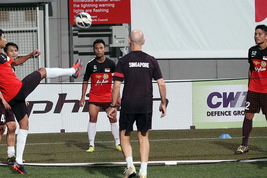 Centralised training begins for the Lions in preparation of the Asian Cup qualifier against Oman. Tickets for Singapore's Asian Football Confederation Asian Cup qualifier against Oman at the Jalan Besar Stadium on Aug 14 will go on sale at noon on Tu