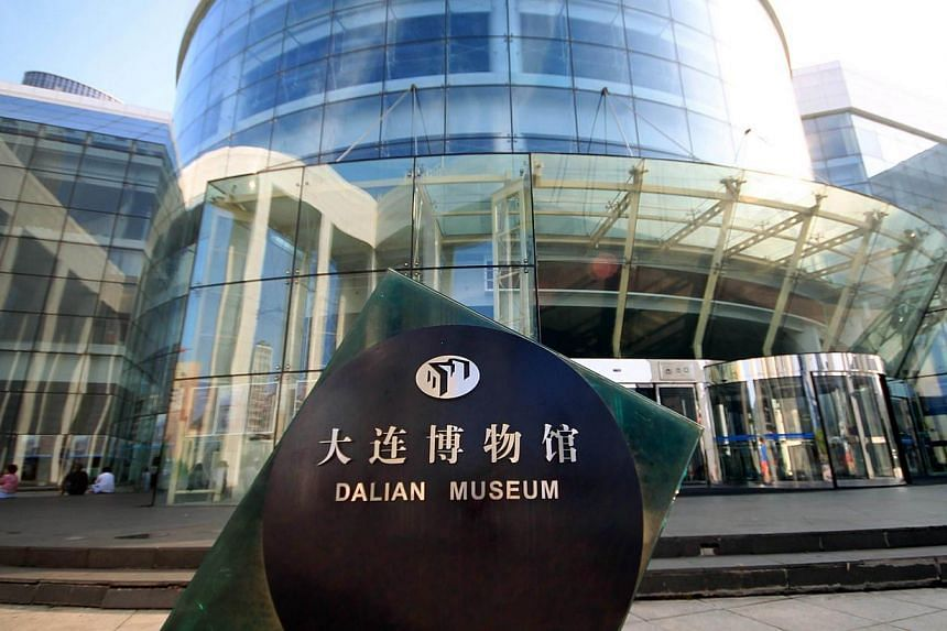 This picture taken on Aug 3, 2013 shows a general view of the Dalian modern museum in Dalian, north-east China's Liaoning province. The Dalian Modern Museum once boasted exhibits on the achievements that brought renown to the city and its former mayo