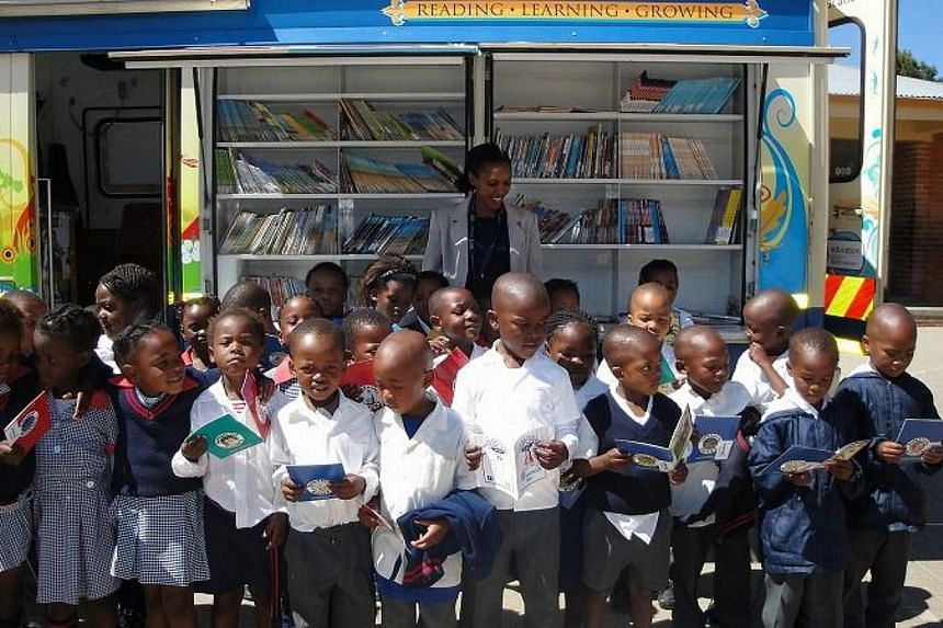 Sony Singapore is conducting its sixth annual book donation drive from Aug 5 to 25. Called the South African Mobile Library Project, this drive aims to bring new and second-hand English children's books to some 600 rural South African schools. -- PHO