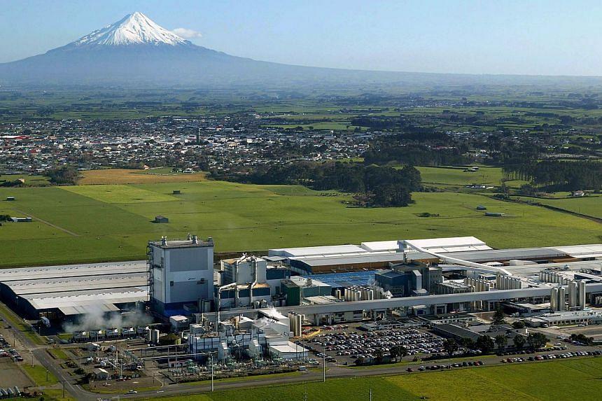 Fonterra's Whareroa processing plant near New Plymouth, New Zealand on March 29, 2007. -- FILE PHOTO: AP