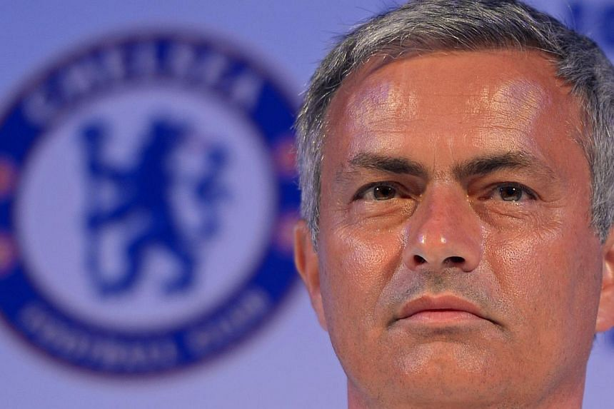 Chelsea football Manager Jose Mourinho attends a press conference at a hotel in Bangkok on July 12, 2013. Mourinho has a golden opportunity to make a point to Real Madrid when the Chelsea manager faces his old club in Miami on Wednesday. -- FILE PHOT