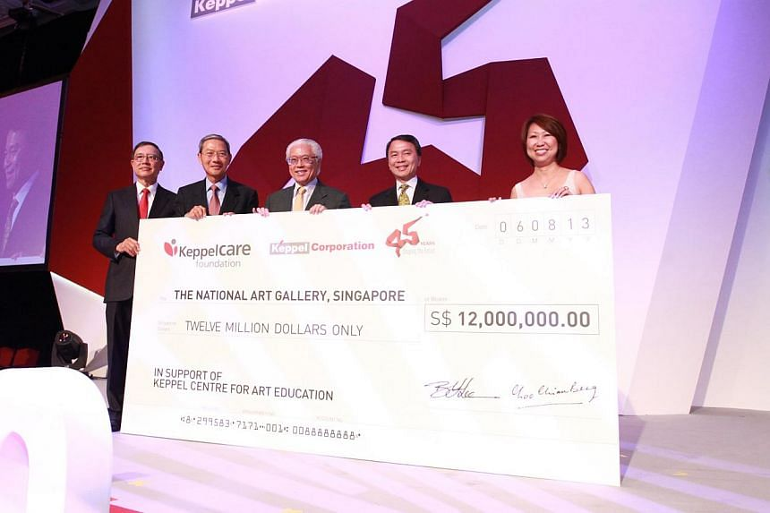 Keppel Corporation has committed $12 million to National Art Gallery, Singapore in support of its centre for art education, to be named Keppel Centre for Art Education. -- PHOTO: KEPPEL CORPORATION