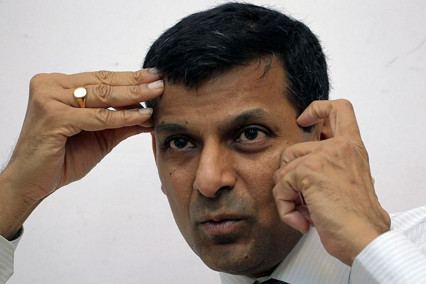 India's chief economic adviser Raghuram Rajan speaks during an interview with Reuters in New Delhi on Monday, March 11, 2013. The Indian government has appointed Mr Rajan, the chief economic adviser in the finance ministry, to be the next governor of