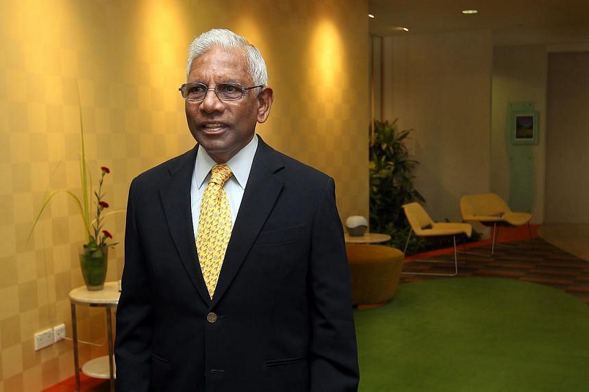 Former Temasek Holdings chairman S. Dhanabalan (above) leaves behind as his most important legacy a sound and effective system of governance at the investment agency, said Deputy Prime Minister and Finance Minister Tharman Shanmugaratnam on Tuesday n