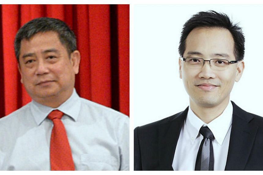 The director of the Corrupt Practices Investigation Bureau Eric Tan (left) will be replaced by Mr Wong Hong Kuan (right), a statement from the Prime Minister's Office announced on Tuesday, Aug 6, 2013.-- PHOTO: PRIME MINISTER'S OFFICE