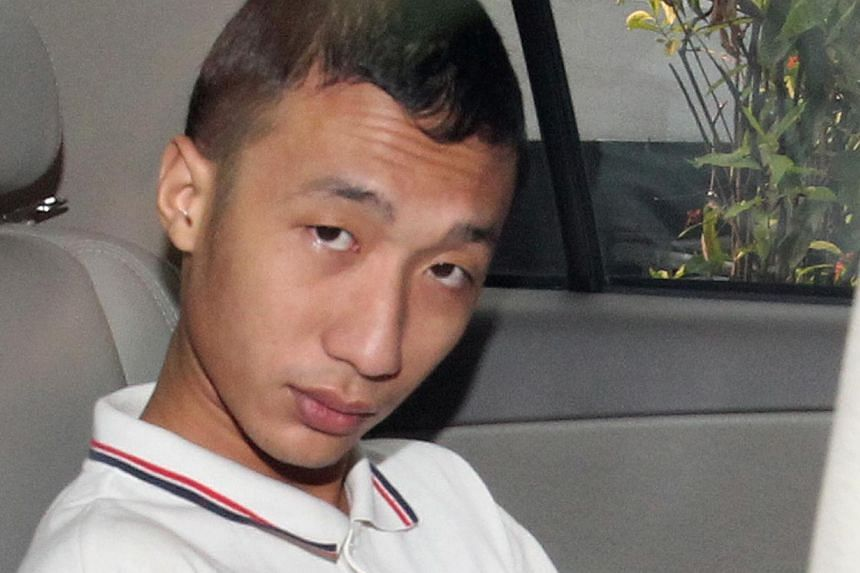 The prosecution has indicated that it will reduce the murder charge against Soh Wee Kian, 23, to that of culpable homicide, which carries either life imprisonment and caning, or up to 20 years' jail and a fine or caning. -- ST FILE PHOTO: LAU FOOK KO