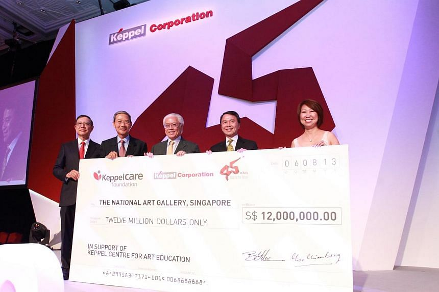 Keppel Corporation has committed $12 million to the National Art Gallery in support of its centre for art education, to be named Keppel Centre for Art Education. -- PHOTO: KEPPEL CORPORATION