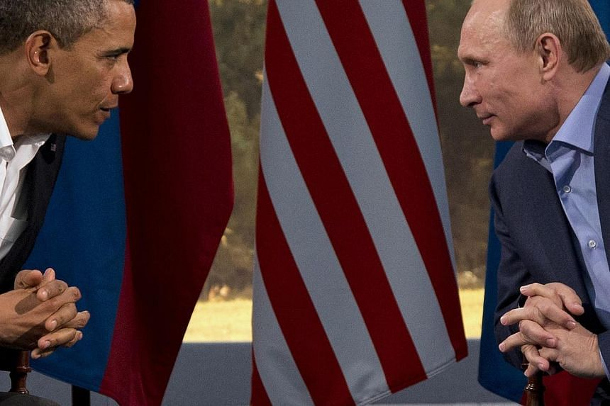 """Russia is """"disappointed"""" by US President Barack Obama's decision to cancel a planned visit to Moscow in early September for a summit with Russian President Vladimir Putin, the Kremlin said on Wednesday, Aug 07, 2013. -- FILE PHOTO: AP"""
