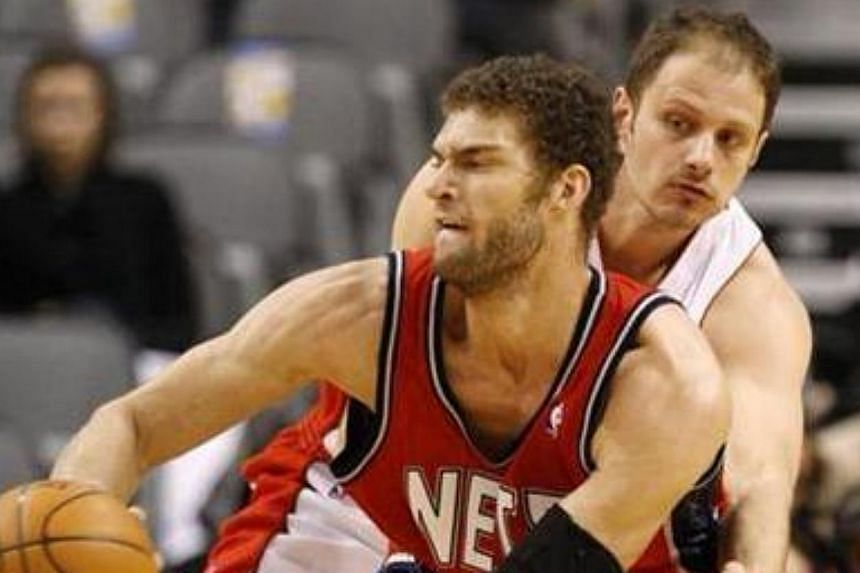 NBA All-Star Brook Lopez will headline an NBA 3X event at the Ngee Ann City Civic Plaza from Aug 31 to Sept 1. -- FILE PHOTO: REUTERS