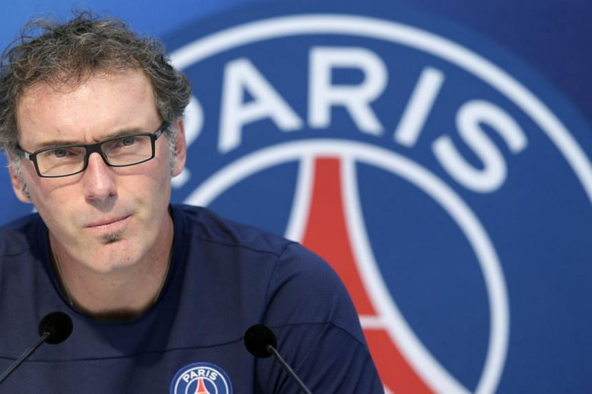 """""""Paris can win it like Chelsea did it when they were least expected to,"""" Laurent Blanc, who took over from the departing Carlo Ancelotti in June, told French daily Le Parisien on Thursday, Aug 8, 2013. -- FILE PHOTO: AFP"""