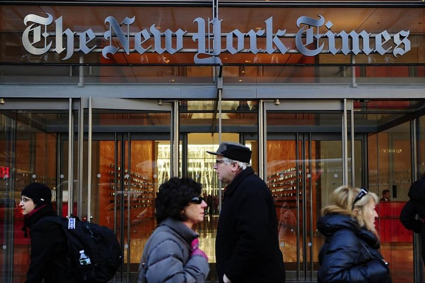 The publisher of The New York Times assured readers and staff on Thursday that his family has no intention to sell the newspaper. -- FILE PHOTO: AFP