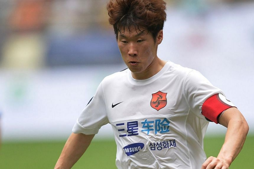 South Korea legend Park Ji Sung has returned to his former club PSV Eindhoven on loan, his current employers Queens Park Rangers said on Thursday, Aug 8, 2013. -- FILE PHOTO: AFP