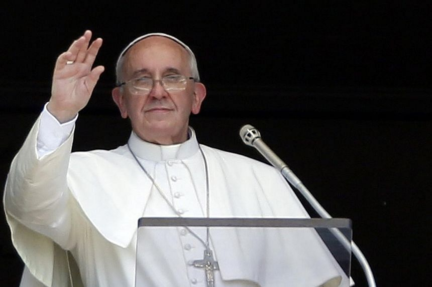 """Pope Francis intensified the fight against corruption in the Vatican on Thursday, Aug 8, 2013, strengthening the law to counter """"money laundering, the financing of terrorism and the proliferation of weapons of mass destruction.""""-- FILE PHOTO: R"""