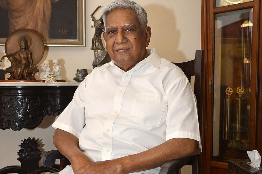 Former President S R Nathan is awarded the highest National Day award this year - the Order of Temasek (First Class). The conferment of this year's top National Day award to Mr Nathan is a token of appreciation for his many contributions to Sing