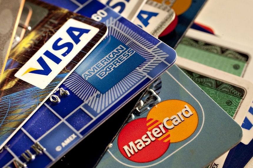 American Express, MasterCard and Visa credit cards are photographed on May 18, 2010, in the United States. Visa and MasterCard introduced it in 2010 for purchases of $45 or less. Retailers and restaurants have been slowly taking up the option of