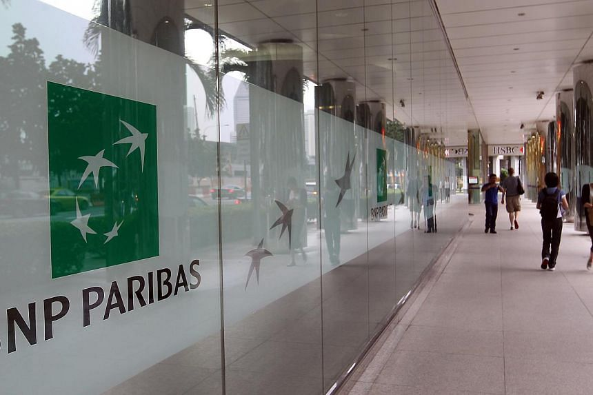 French bank BNP Paribas in Singapore. French banks are back in the good graces of investors after turning in surprisingly strong quarterly results that appear to show they have put the worst of the eurozone crisis behind them. -- ST FILE PHOTO: LAU F