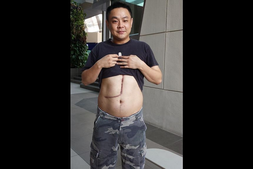 Donor TONG MING MING. -- ST PHOTO: ALPHONSUS CHERN