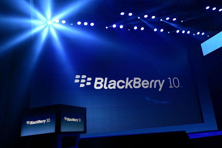 """Struggling smartphone maker Blackberry said on Monday, Aug 12, 2013, it is examining """"strategic alternatives"""" for the company, including the possibility of a sale. -- FILE PHOTO: AFP"""