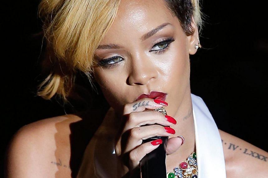 Justin Bieber and Rihanna (above) are among the stars coming for the F1 concert here. To win a pass to Bieber's meet-and-greet session here, send in a creative entry on anything related to him, be it singing, dancing or even impersonation. -- PHOTO
