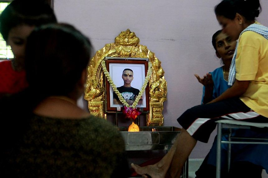 The family of Dinesh Raman Chinnaiah, a prison inmate who died after suffering breathing difficulties while in an isolation cell, will be compensated by the Government, which has also accepted liability. -- TNP FILE PHOTO: KELVIN CHNG