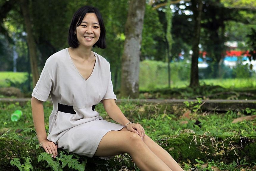 Environment correspondent Grace Chua from The Straits Times has been named Singapore's winner at this year's Siemens Green Technology Journalism Award. -- ST PHOTO: KEVIN LIM