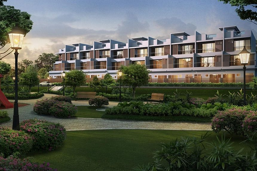 Artist's impression of Luxus Hill.Bukit Sembawang Estates today said its first quarter net profit rose by 77.7 per cent to $49.2 million, thanks to higher profit recognition on projects under construction. -- FILE PHOTO:BUKIT SEMBAW