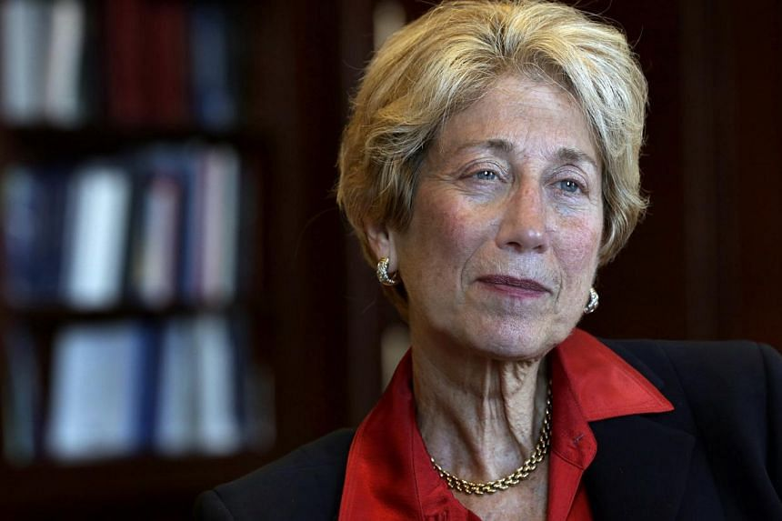 In this May 17, 2013 file photo, U.S. District Court Judge Shira Scheindlin is interviewed in her federal court chambers in New York. In a 198-page ruling, Judge Shira Scheindlin said police randomly stopping individuals on the street and subjec