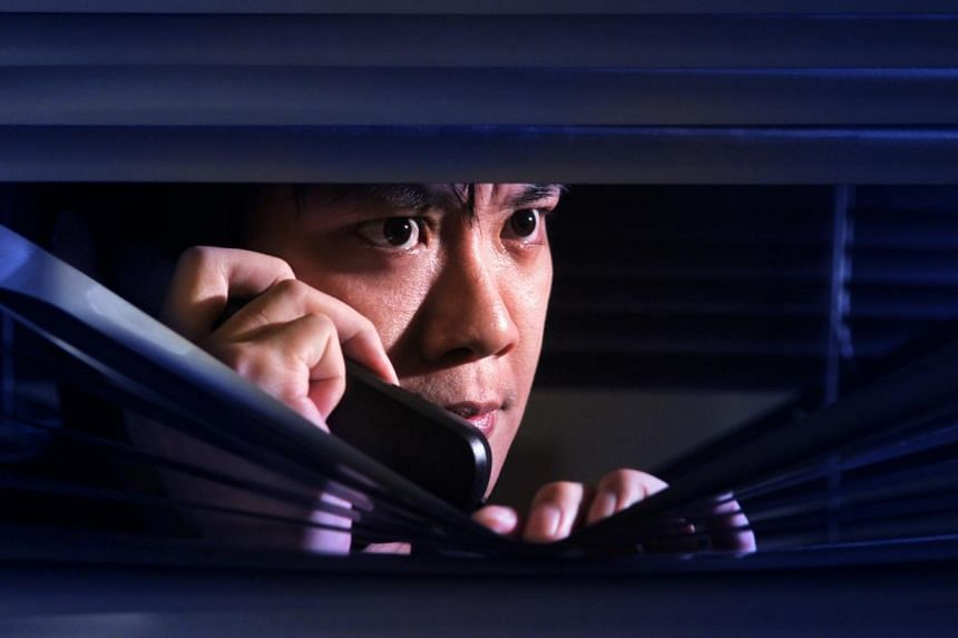 The Police in a statement on Tuesday advised the public to be wary of a phone call scam which tricks victims into transferring money to the scammer. -- MY PAPER POSED PHOTO:JAMIE KOH