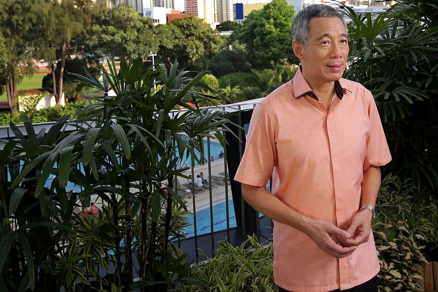 Prime Minister Lee Hsien Loong recording his National Day Message at Safra Toa Payoh on Aug 3 2013. PM Lee will deliver his National Day Rally speech on Sunday evening, at ITE Headquarters and College Central. -- FILE PHOTO: MINISTRY OF COMMUNICATION
