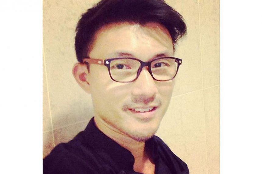 Mr Baey showed his followers his new prescription reading glasses on Aug 6. -- PHOTO BY: BAEY YAM KENG