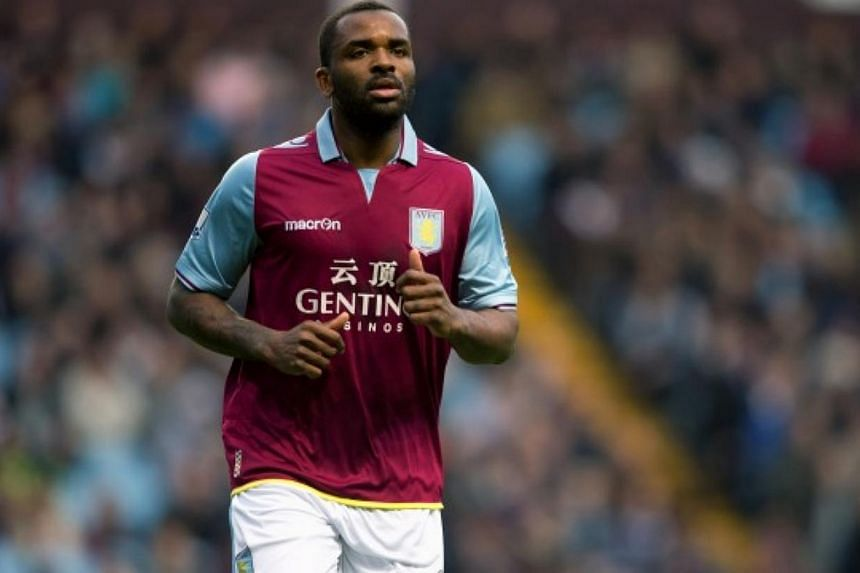 Aston Villa manager Paul Lambert confirmed on Thursday that striker Darren Bent (above) was undergoing a medical at Fulham with a view to a season-long loan deal at their Premier League football rivals. -- PHOTO: AVFC.CO.UK